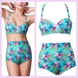 Other - 4/$20🔥 retro high waisted bikini